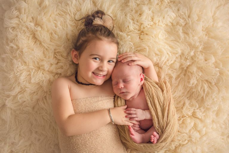 Newborn photography for a Warrnambool family